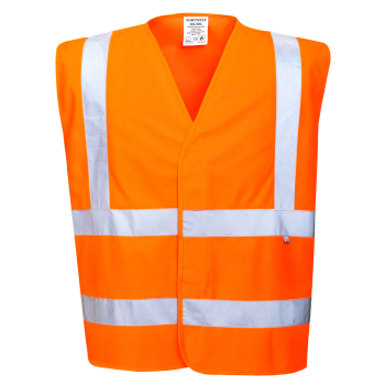 FR75 Hi-Vis Flame Resistat Vest Orange