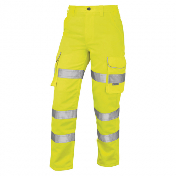 CL01 Pennymoor Ladies Poly/Cotton Cargo Trouser Yellow