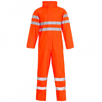 19181 Storm-Flex Hi Vis Orange PU Coverall