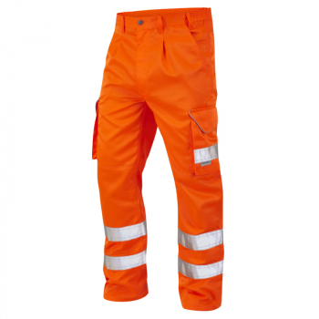 CT01 Bideford Poly/Cotton Cargo Trouser Orange