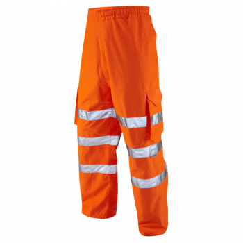 L02 Instow Executive Cargo Overtrouser Orange