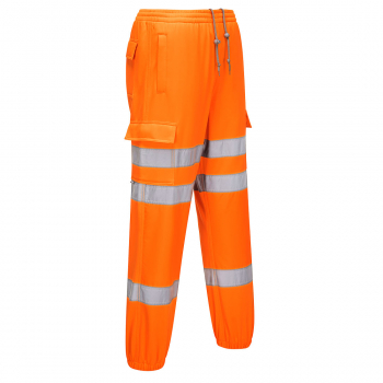 RT48 Hi-Viz Jogging Bottoms Orange