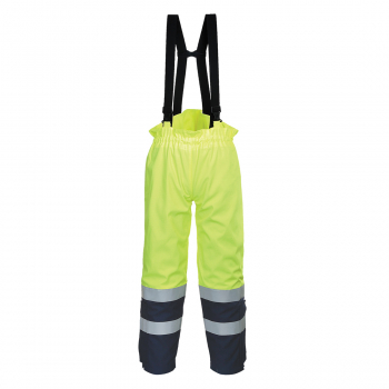 FR78 FR Multi ARC Yellow/Navy Bib & Brace