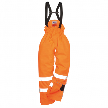 S780 Bizflame Hi-Viz Antistatic FR Bib & Brace Orange