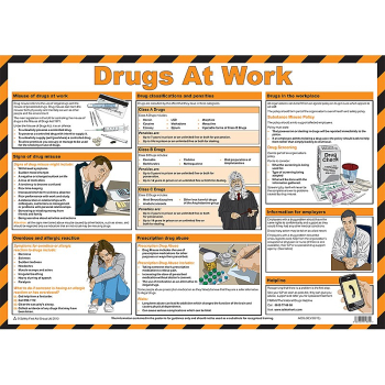 Drugs at Work Guidance Poster - Size A2