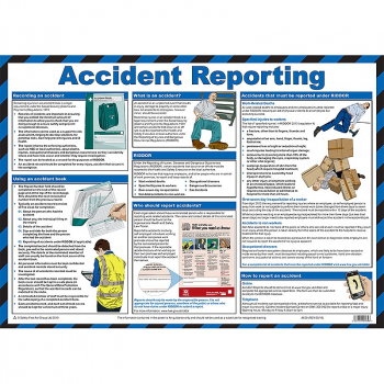 Accident Reporting Guidance Poster - Size A2