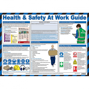 Health & Safety at Work Guidance Poster - Size A2