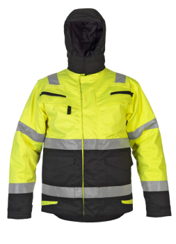 Matlock Multi CVC Waterproof High Visibility Fixed Lining Arc Parka