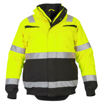 Morpeth Multi CVC Waterproof High Visibility Fixed Lining Pilot Jacket