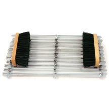 BOOT SCRAPER 20inch X 12inch C/W 2 BRUSHES
