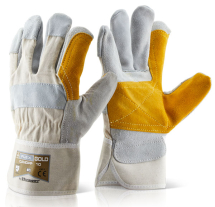 DOUBLE PALM H/Q B-FLEX GOLD BEESWIFT-RIGGER GLOVE-CANADIAN
