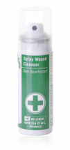 CLICK MEDICAL 70ML WOUND CLEANSER SKIN DISINFECTANT