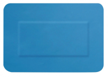 HYGIO PLAST BLUE DETECTABLE PLASTERS LARGE PATCH