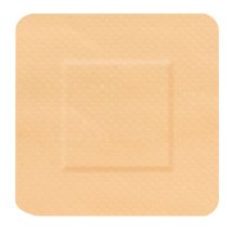 HYGIO PLAST WATERPROOF PLASTERS SQUARE 30x30mm