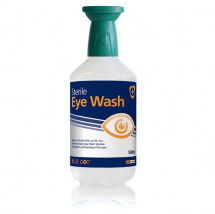 BLUE DOT EYEWASH BOTTLE 500ml C/W CAP