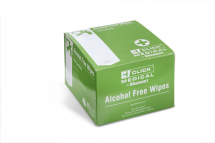 MEDICAL ALCOHOL FREE WIPES PK 100