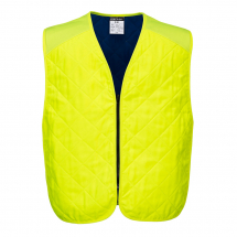 COOLING EVAPORATIVE VEST 2X/3X YELLOW