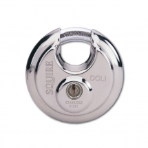 70MM DISC STYLE PADLOCK 5 PIN SQUIRE
