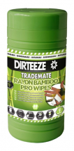 DIRTEEZE BAMBOO RAYON WIPES TUB OF 80