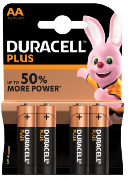 DURACELL AA PK OF 4
