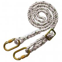 Vertex 8145 2 metre Adjustable Rope Restraint Lanyard