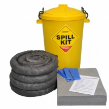 80lt YELLOW DRUM SPILL KIT
