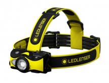 iH9R LED LENSER HEAD TORCH RECHARGEABLE - 600 LUMENS