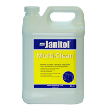 JANITOL¸ MULTI-CLEAN 5 LTR H/DUTY DETERGENT, DEB