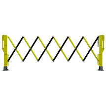 EXPANDABLE BARRIER 3 METRE - YELLOW / BLACK