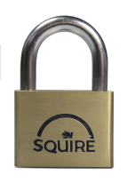 60MM PREMIUM BRASS PADLOCK 5 PIN DOUBLE LOCKING - SQUIRE