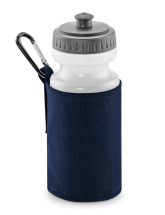 WATER BOTTLE & HOLDER NAVY (500ML WATER BOTTLE INCLUDED)