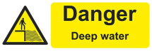 DANGER DEEP WATER 600X200 - COREX