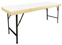 TABLE (MELLAMINE,WHITE) CANTEEN TABLE