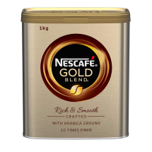 GOLD BLEND COFFEE GRANULES 750G TIN - NESCAFE